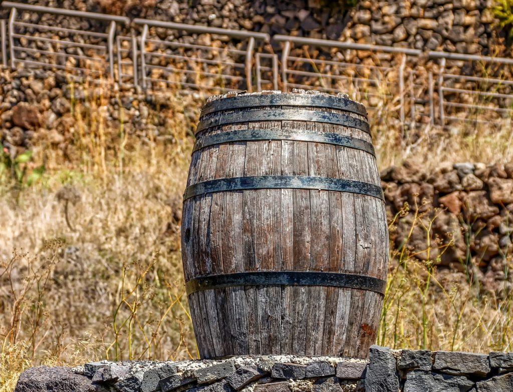 Holzfass Wein