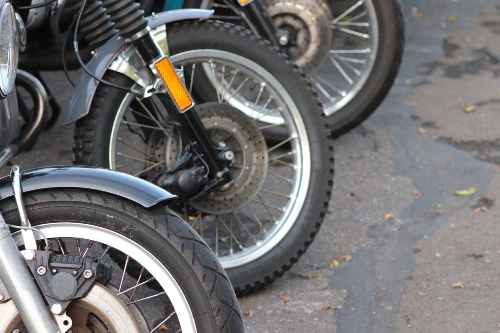 Motorräder Vorderreifen